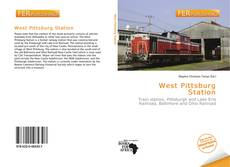 Bookcover of West Pittsburg Station