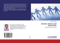 Bookcover of Society: Values and Spirituality