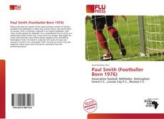 Capa do livro de Paul Smith (Footballer Born 1976)