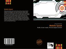 Buchcover von Mobile Speak