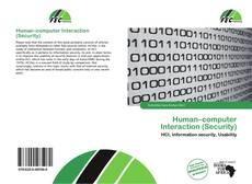 Human–computer Interaction (Security)的封面
