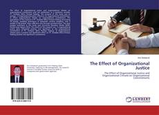The Effect of Organizational Justice的封面
