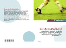 Bookcover of Steve Smith (Footballer)
