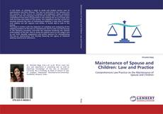 Maintenance of Spouse and Children: Law and Practice的封面