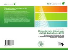 Championnats d'Amérique du Sud d'Athlétisme 2005 kitap kapağı