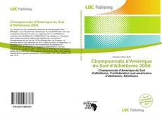 Championnats d'Amérique du Sud d'Athlétisme 2006 kitap kapağı