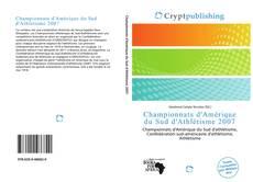 Championnats d'Amérique du Sud d'Athlétisme 2007 kitap kapağı