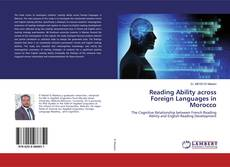 Bookcover of Reading Ability across Foreign Languages in Morocco