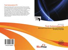 Bookcover of Test Automation FX
