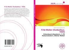 Buchcover von Fritz Walter (footballeur, 1920)
