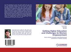 Couverture de Getting Higher Education and Challenges to Women Empowerment