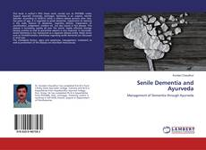 Bookcover of Senile Dementia and Ayurveda