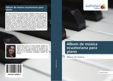 Обложка Album de música ecuatoriana para piano