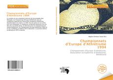 Bookcover of Championnats d'Europe d'Athlétisme 1994