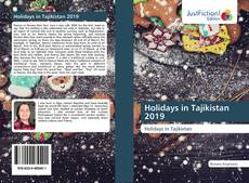 Bookcover of Holidays in Tajikistan 2019