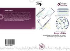Bookcover of Siege of Diu