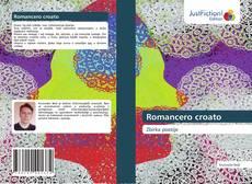 Romancero croato kitap kapağı