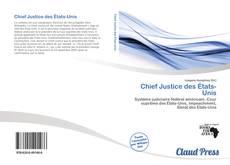 Buchcover von Chief Justice des États-Unis