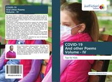 Buchcover von COVID-19 And other Poems Volume - IV