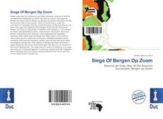 Обложка Siege Of Bergen Op Zoom