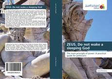 Buchcover von ZEUS. Do not wake a sleeping God
