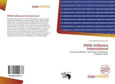 Capa do livro de FRISK Software International