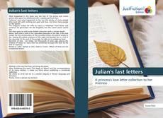 Обложка Julian's last letters