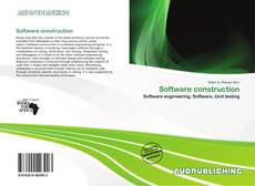 Capa do livro de Software construction