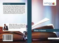 Capa do livro de Now I Know