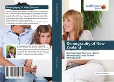 Bookcover of Demography of New Zealand