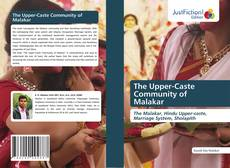 Portada del libro de The Upper-Caste Community of Malakar