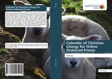 Calendar of Christian Liturgy for Online Ordained Priests kitap kapağı