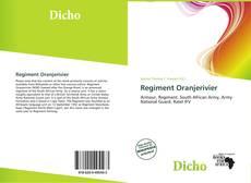 Bookcover of Regiment Oranjerivier
