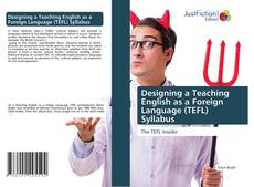 Designing a Teaching English as a Foreign Language (TEFL) Syllabus kitap kapağı