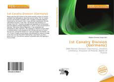 Bookcover of 1st Cavalry Division (Germany)