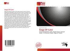 Bookcover of Siege Of Calvi