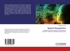 Bookcover of Speech Recognition
