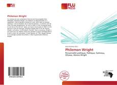 Philemon Wright kitap kapağı