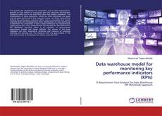 Capa do livro de Data warehouse model for monitoring key performance indicators (KPIs)