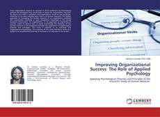 Buchcover von Improving Organizational Success: The Role of Applied Psychology