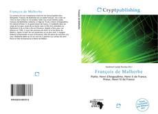 Bookcover of François de Malherbe