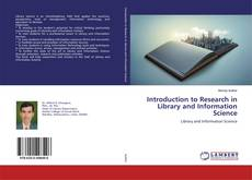 Bookcover of Introduction to Research in Library and Information Science