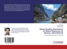 Portada del libro de Water Quality Assessment of Water Resources of Almora, Uttarakhand