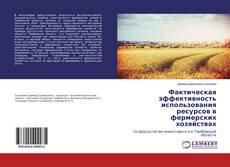 Copertina di Фактическая эффективность использования ресурсов в фермерских хозяйствах