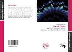 Bookcover of Sarah Class