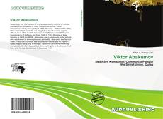 Bookcover of Viktor Abakumov