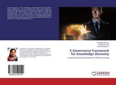 Capa do livro de E-Governance framework for knowledge discovery