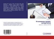 Borítókép a  Уголовное право: шпаргалка - hoz