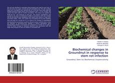 Capa do livro de Biochemical changes in Groundnut in response to stem rot infection