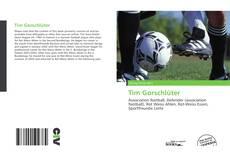 Tim Gorschlüter kitap kapağı